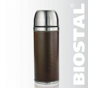 Термос Biostal Охота NYP-500P 0,5л (узкое горло,кож.вст.,2 Термосы<br>Легкий и прочный Сохраняет напитки горячими <br>или холодными долгое время Изготовлен из <br>высококачественной нержавеющей стали С <br>крышкой-чашкой и вставкой из кожзаменителя <br>Укомплектован дополнительной пробкой Характеристики: <br>Объем: 0,5 литра Высота: 24 см Диаметр: 7,5 см <br>Вес: 520 грамм Размеры упаковки: 8см х 8см х <br>30см<br>