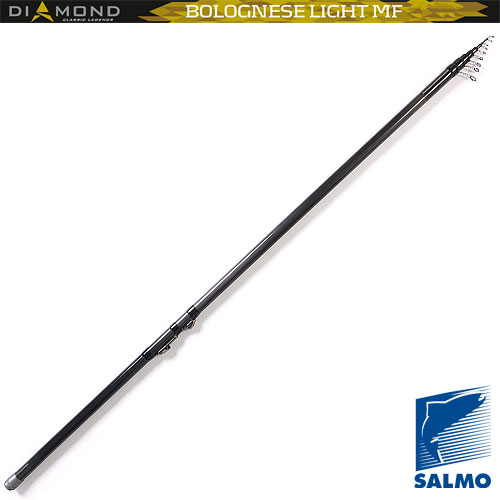 Удилище Поплавочное С Кольцами Salmo Diamond Удилища поплавочные<br>Удилище попл.с кол. Salmo Diamond BOLOGNESE LIGHT MF 5.01 <br>дл.5.00м/тест 3-15г/строй M/325г/5секц./дл.тр.136см <br>Высококачественное легкое удилище средне-быстрого <br>строя средней мощности, изготовленное из <br>графита Im7. Удилище укомплектовано облегченными <br>кольцами с высококачественными вставками <br>sIc и надежным катушкодержателем. Верхнее <br>колено имеет два дополнительных разгрузочных <br>кольца. • Материал бланка удилища - углеволокно <br>(Im7) • Строй бланка средний • Конструкция <br>телескопическая Кольца пропускные: - облегченные <br>- со вставками sIc • Рукоятка с противоскользящим <br>покрытием • Катушкодержатель быстродействующего <br>типа cLIP UP<br><br>Сезон: лето