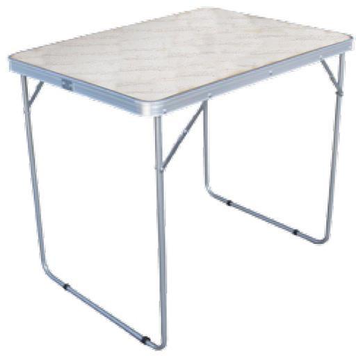 Стол Woodland Camping Table XL, складной, 80 x 60 x 66 см Столы<br>МОДЕЛЬ: Camping Table XL МАТЕРИАЛЫ: Сталь 19 мм МДФ <br>РАЗМЕР: 80 x 60 x 66 см. ВЕС: 3,3 кг. Компактная <br>складная конструкция. Прочный стальной <br>каркас с покрытием.. Материал столешницы <br>- МДФ. Удобная ручка для переноски. Максимально <br>допустимая нагрузка 20 кг.<br>