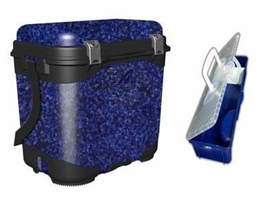 Ящик рыболова A-elita в комплекте с коробкой для снастей (ППП с армированием)