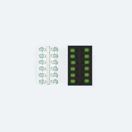 Подвес-Серьга Микро-Бис Шар Зелен. Светонакоп • 3.1Мм К 12Шт. 61-571