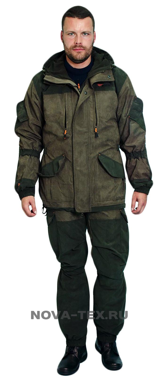 Костюм мужской Магнум осень (финляндия, Костюмы утепленные<br>Костюм «Магнум» Осень (ТМ «PRIDE of the hunter») <br>- разработан на основе знаменитого военного <br>костюма «Горка». В этом костюме гармонично <br>сочетается проверенный временем анатомический <br>крой и современные ветро-влагозащитные <br>материалы. В результате сурового коктейля <br>из апробированных и инновационных технологий <br>мы и получаем костюм «Магнум» Осень. Верх <br>костюма изготовлен из современной мембранной <br>ткани «Финляндия», прекрасно защищающей <br>от дождя и ветра, подкладка - из мягкого <br>гипоаллергенного флиса который создает <br>комфортные условия для тела. Костюм «Магнум» <br>Осень рекомендуется для охотников, рыбаков, <br>туристов, любителей военно-спортивных игр <br>и силовых структур. Особенности модели: <br>-ветрозащитная ткань -влагозащитная ткань <br>-основная ткань - мембрана -водонепроницаемость <br>- 5000 -паропроницаемость - 5000 -анатомический <br>крой -куртка регулируется по талии -усиление <br>по плечам -усиление на локтях -усиление <br>на коленях -усиление по низу брюк -двойная <br>ветрозащитная планка -утяжки в области <br>локт<br><br>Пол: мужской<br>Размер: 52-54<br>Рост: 182-188<br>Сезон: демисезонный<br>Цвет: оливковый<br>Материал: текстиль