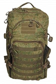 Рюкзак тактический Woodland ARMADA - 3, 40 л (цифра)Рюкзаки<br>Тактические рюкзаки идеально подойдут <br>для охоты и рыбалки, туристических путешествий, <br>походов. Рюкзаки изготовлены из высококачественной <br>ткани Oxford 600 с пропиткой для защиты от проникновения <br>влаги. Вместительность модели регулируется <br>компрессионными боковыми ремнями на фастексах. <br>Плотная спинка с мягкими вставками Airmesh <br>и длина плечевых ремней обеспечивают комфорт <br>и равномерное распределение нагрузки. Особенности: <br>- два вместительных отделения - компрессионные <br>утяжки по бокам и снизу - поясной ремень <br>для распределения нагрузки. - два небольших <br>отделения для мелочей. Объем 40 л. Цвет: камуфляж <br>цифра Материал: полиэстер 100%<br><br>Пол: унисекс<br>Цвет: зеленый