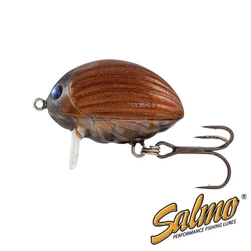 Воблер Плавающий Salmo Lilbug F 02/mbgВоблер плав. Salmo LILBUG F 02/MBG пласт./расцв.MBG/дл.20мм/спиннинг <br>Вид приманки – крэнкбейт В ассортименте <br>Salmo с – 2014 Предлагаемый размер (см) – 2 и <br>3 Предлагаемые типы – F Предлагаемое количество <br>расцветок – 5 Рекомендуемый метод ловли <br>– СПИННИНГ Рекомендуется для ловли – голавля, <br>язя, жереха, форели, окуня Lil Bug - это поверхностный <br>воблер, так называемый трассер. Как видно <br>из названия, он привлекает рыбу, оставляя <br>на поверхности воды хорошо заметный след. <br>Это позволяет хищнику заметить приманку <br>даже в мутной воде. Внутри тела приманки <br>(3-х сантиметровой версии) установлена специальная <br>система дальнего заброса SALMO INFINITY CAST SYSTEM <br>(SICS), которая позволяет забрасывать его <br>на большое расстояние, давая рыболову возможность <br>дотянуться до самых удалённых участков <br>водоёма. Lil Bug оснащён невероятно острыми <br>и прочными тройниками, разработанными в <br>Японии. Этот воблер прежде всего ориентирован <br>на ловлю голавля, язя и жереха, однако также <br>может с успехом применяться для других <br>хищ<br><br>Сезон: лето