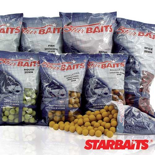 Бойли Тонущие Starbaits Fish 20Мм 10КгБойли<br>Бойли тон. Starbaits FISH 20мм 10кг 20мм/рыба/10кг/в <br>уп 1шт BOILIE - Одна из самых эффективных и популярных <br>насадок для ловли карпа. В состав бойлей <br>входят натуральные ароматизаторы, аминокислоты <br>и протеин.<br><br>Сезон: лето