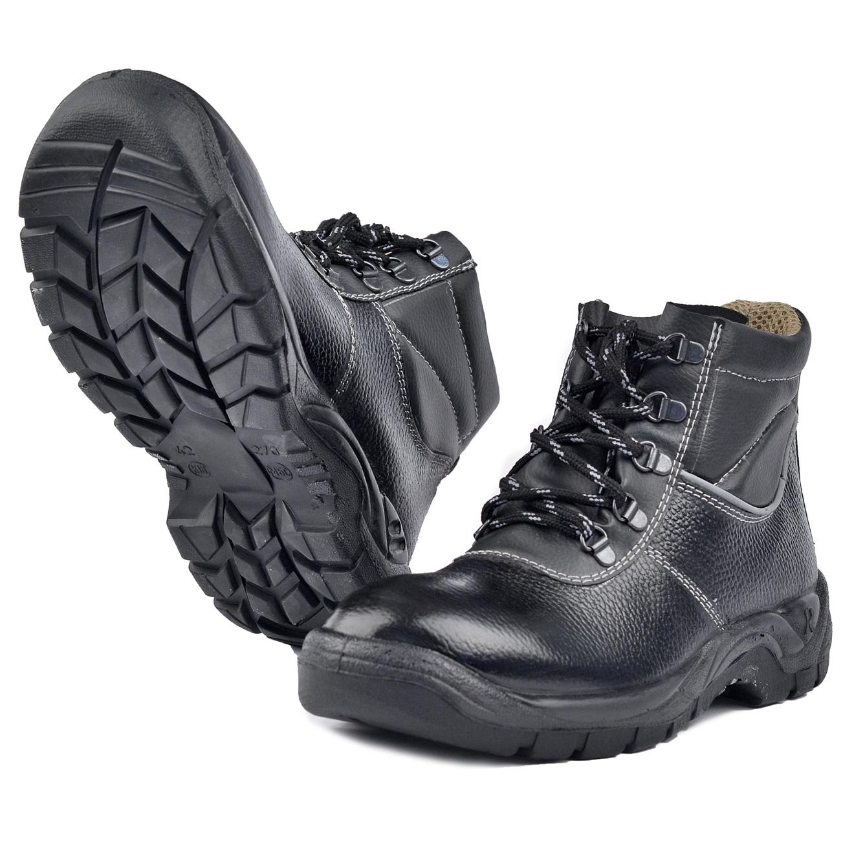 Ботинки ПУ/НИТРИЛ (46)Ботинки универсальные и рабочие<br>Отличная универсальные ботинки, подходят <br>для различных отраслей промышленности. <br>Глухой клапан препятствует попаданию производственной <br>пыли, грязи и воды. Форма мягкого канта повторяет <br>контур ноги и надежно фиксирует её. Подошва <br>выдерживает высокий температурный режим, <br>не более 300С, не замерзает и не дубеет на <br>морозе.<br><br>Пол: мужской<br>Размер: 46<br>Сезон: лето<br>Цвет: черный