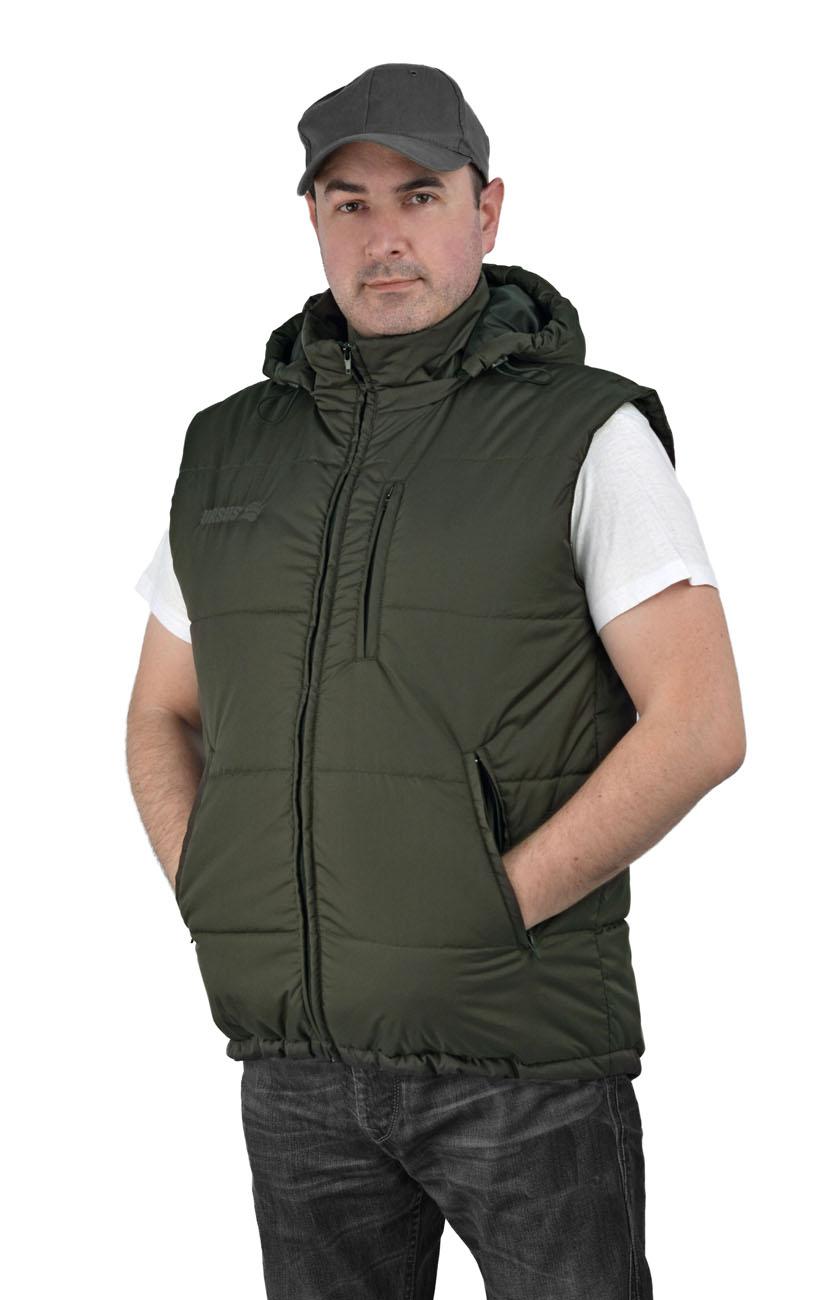 Жилет мужской Gerkon Delta утеплённый т.Дюспа Жилеты утепленные<br>? жилет утеплённый застёжка на молнии <br>? три кармана на молнии ? внутренний карман <br>отстёгивающийся капюшон<br><br>Пол: мужской<br>Размер: 44-46<br>Сезон: демисезонный<br>Материал: т.Дюспо 240Т 100% полиэфир