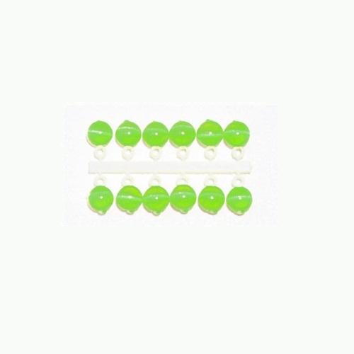 Подвес-Серьга Микро-Бис Кошачий Глаз Зелен. 4Мм К 6Шт. 64-121