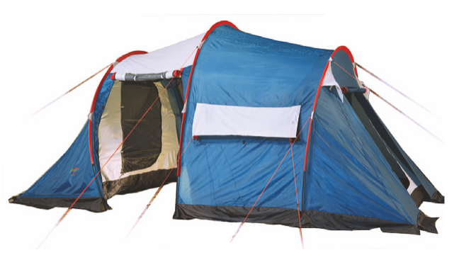 Палатка Canadian Camper TANGA 5 (цвет royal дуги 9,5 мм)Палатки<br>TANGARA 3/ TANGA 3 / TANGA 5– комфортные палатки для <br>туризма. Их классическая форма «полубочка» <br>- пользуется заслуженной популярностью <br>у туристов, благодаря небольшому весу, легкой <br>установке, просторному спальному отделению <br>и большому тамбуру, двери и окна которого <br>имеют полно размерные антимоскитные сетки. <br>Дверь тамбура также можно использовать <br>как дополнительный козырек над входом. <br>Для обеспечения максимального комфорта <br>– спальное отделение имеет два входа и <br>два вентиляционных окна, которые оборудованы <br>антимоскитными сетками. Для увеличения <br>внутреннего пространства Вы можете снять <br>или не устанавливать спальное отделение. <br>Палатки выпускается в двух цветовых решениях <br>– ROYAL и WOODLAND Палатка TANGARA 3 отличается от <br>палатки TANGA 3 формой задней части спального <br>отделения. Не комплектуется полом для тамбура.<br><br>Сезон: лето<br>Цвет: синий