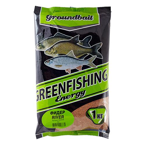Прикормка Gf Energy Фидер River 1.000КгПрикормки<br>Прикормка GF Energy ФИДЕР River 1.000кг пакет 1кг/ароматика: <br>специализированная/цвет: желтый «Greenfishing <br>Energy»- новая серия первоклассной прикормки <br>от Компании «Энергия», созданная по оригинальному <br>рецепту, с использованием только лучших <br>ингредиентов от ведущих производителей <br>РФ и Европы. Это тяжелая прикормка с мелкой <br>и средней фракцией, ароматы и цвет ярко <br>выраженные, очень стойкие за счет использования <br>оригинальных технологий и современного <br>оборудования, выходит в виде целевых прикормок, <br>в каждой из которых тщательным образом <br>подобран состав, цвет и аромат к тому или <br>иному виду рыб и условиям ловли. Состав: <br>Бисквит, лен, конопля, кукуруза, злаковые, <br>сахар, соль, утяжелитель, куркума, специи, <br>пеллетс, пищевой краситель, ароматизаторы.<br><br>Сезон: лето