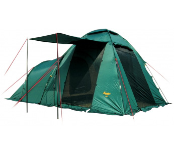Палатка Canadian Camper HYPPO 4 (цвет woodland дуги 8,5/9,5 Палатки<br>Canadian Camper HYPPO 4 - самая популярная кемпинговая <br>палатка с относительно небольшим весом, <br>и главное, ценой. Модель легка в установке, <br>вместительна и просторна. Одна спальня, <br>большой и высокий тамбур-прихожая с тремя <br>входами, двери которых имеют антимоскитные <br>сетки по всей площади. В жаркую погоду Вы <br>можете открыть все двери палатки, оставив <br>только антимоскитные сетки в их проемах. <br>Дверь тамбура можно использовать как дополнительный <br>козырек над входом. Canadian Camper для улучшения <br>вентиляции палатка использует верхнее <br>вентиляционное окно, также дополнительное <br>окно имеет спальное отделение. Все окна <br>оснащены антимоскитными сетками. Возможно <br>использование тента без спального отделения. <br>Палатка Canadian Camper HYPPO 4 выпускается в двух <br>цветовых решениях - ROYAL и WOODLAND. Не комплектуется <br>полом для тамбура.<br><br>Сезон: лето<br>Цвет: зеленый