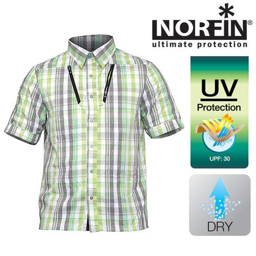 Рубашка Norfin SummerСшита из синтетической ткани, которая отлично <br>«дышит», очень быстро высыхает, хорошо защищает <br>кожу тела рыболова от ультрафиолетовых <br>лучей. Хорошо подходит для активного отдыха <br>на природе, а также для повседневной носке <br>в жаркие летние дни. Особенности: - воротничок, <br>застегивающийся с помощью пуговиц; - два <br>нагрудных кармана на молниях; - степень <br>защиты нейлона от солнечного излучения <br>UPF равно 30 единицам.<br><br>Пол: мужской<br>Размер: S<br>Сезон: лето<br>Цвет: серый<br>Материал: текстиль