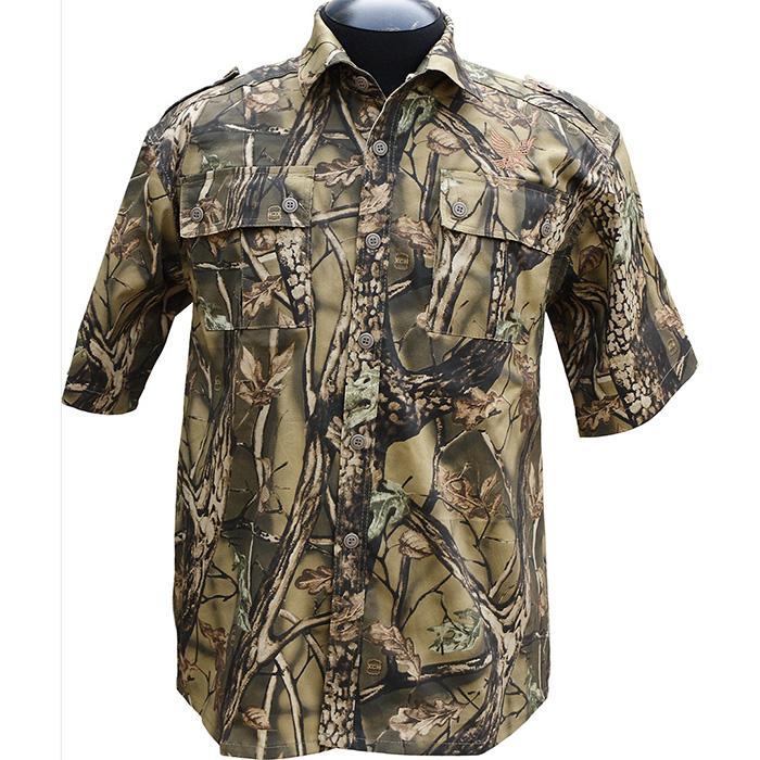 Рубашка ХСН Фазан короткий рукав (9456-2) Рубашки к/рукав<br>Рубашка мужская прекрасно подойдет для <br>ношения летом. На рубашке нашиты накладные <br>карманы. Для защиты от влаги материал обработан <br>водоотталкивающей пропиткой.<br><br>Пол: мужской<br>Размер: 48/182-188<br>Сезон: лето<br>Цвет: зеленый<br>Материал: 95% хлопок, 5% спандекс