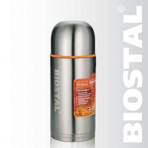 Термос Biostal Спорт NBP-500 0,5л (узкое горло, Термосы<br>Легкий и прочный Сохраняет напитки горячими <br>или холодными долгое время Изготовлен из <br>высококачественной нержавеющей стали Корпус <br>покрыт защитным прозрачным лаком Укомплектован <br>дополнительной пробкой С крышкой-чашкой <br>и дополнительной пластиковой чашкой Гарантия <br>на термос 1 год. Характеристики: Артикул: <br>NBP-500 Объем: 0,5 литра Высота: 21,5 см Диаметр: <br>7,7 см Вес: 480 грамм Размеры упаковки: 8,5см <br>x 8,5см x 27,7см Термос с узким горлом NВP-500 ТМ <br>«BIOSTAL» относится к серии «СПОРТ» премиум-класса. <br>Термосы этой серии вобрали в себя самые <br>передовые энергосберегающие технологии <br>и отличаются применением более совершенных <br>термоизоляционных материалов, а так же <br>новейшей технологией по откачке вакуума. <br>Термос предназначен для хранения горячих <br>и холодных напитков (чая, кофе и пр.) и укомплектован <br>двумя пробками (вторая пробка в подарок): <br>пробка без кнопки надежна, проста в использовании <br>и позволяет дольше сохранять тепло благодаря <br>дополнительной теплоизоляции, пробка с <br>кнопкой удобна в использовании и позволяет, <br>не отвинчивая ее, наливать напитки после <br>простого нажатия на кнопку.<br>