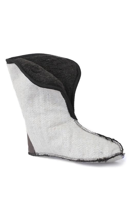 Чулки женские фольгированные утепляющие Чулки<br>Чулок-утеплитель состоит из 4 слоёв: 1. Спанбонд- <br>ворсистая поверхность для сбора конденсата <br>с внутренней поверхности сапога. 2. Фольга- <br>создает эффект термоса и позволяет поддерживать <br>комфортную температуру, сохраняя ноги в <br>тепле. 3. НТП- нетканое волокно из полых волокон, <br>которое создает дополнительную воздушную <br>прослойку. 4. Натуральный шерстяной мех, <br>укреплен на трикотажном полотне, что делает <br>внутреннюю часть утеплителя более стойкой <br>к истиранию.<br><br>Пол: женский<br>Размер: 39-40<br>Сезон: зима<br>Цвет: белый<br>Материал: Многослойный материал, морозостойкость