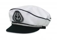 Адмиралка кп165к-15 белая, с регулировкой, Форменные головные уборы<br><br><br>Пол: мужской<br>Сезон: лето<br>Цвет: белый