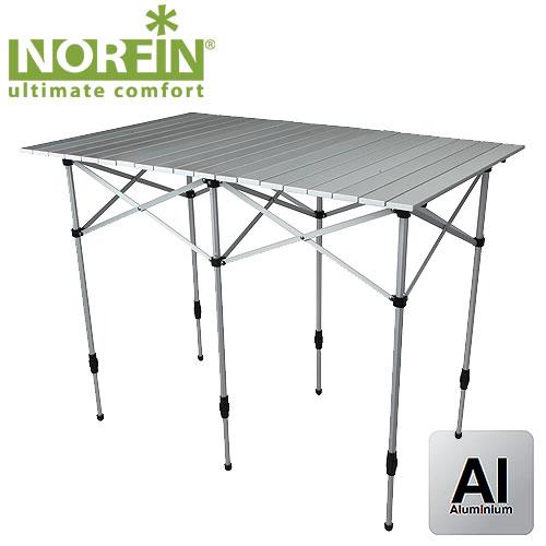 Стол Складной Norfin Glomma-M Nf Алюминиевый 110X71 NF-20303