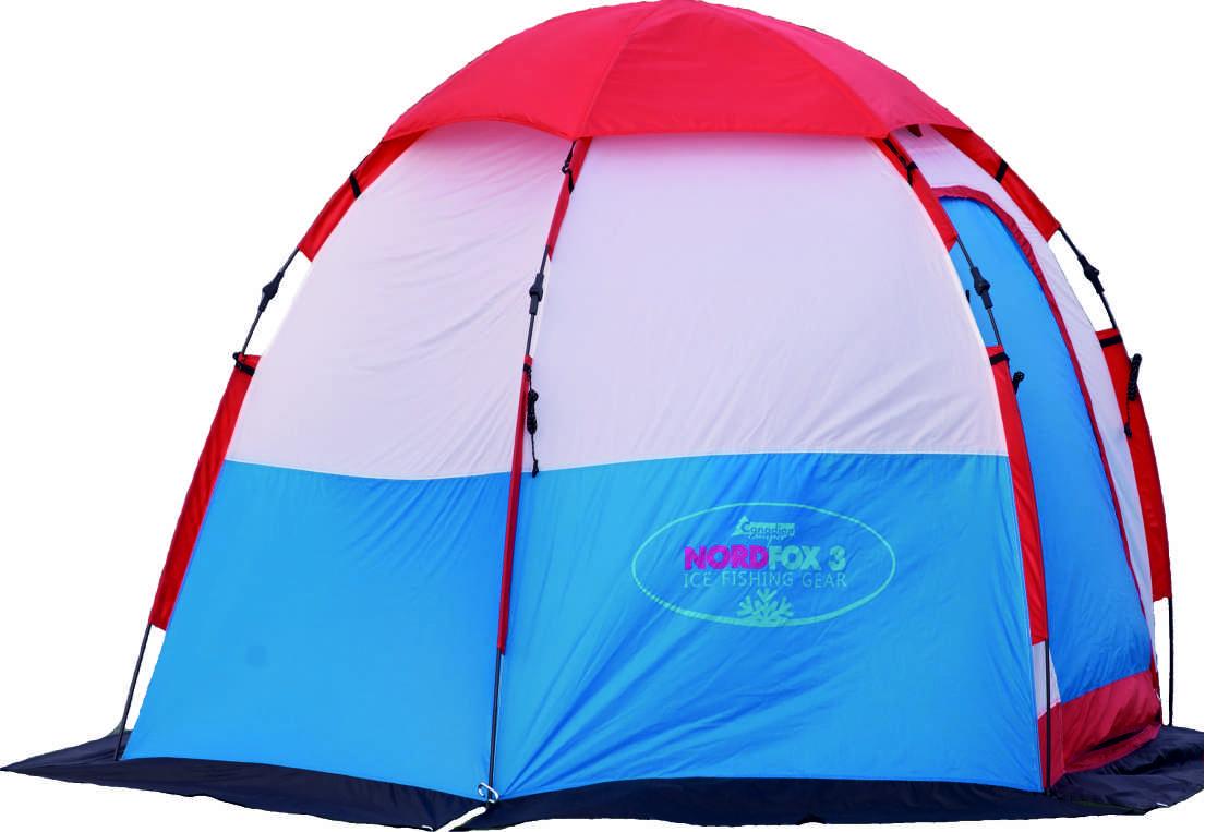 палатка рыбака зимняя Nord Fox 2