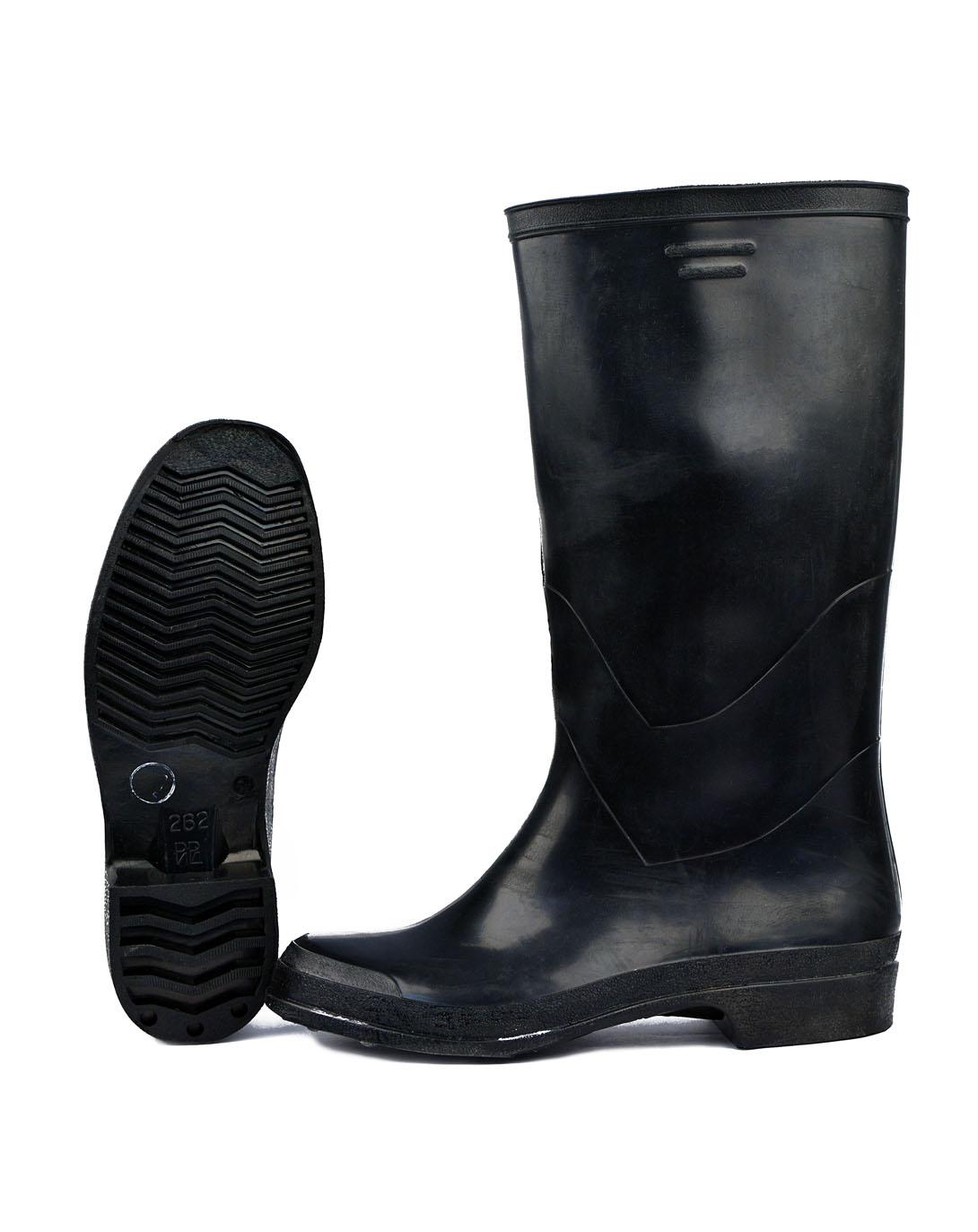 Сапоги резиновые мужские черные (45(евро Сапоги для активного отдыха<br>Сапоги изготовлены формованным способом <br>- предназначены для защиты ног от воды и <br>общепроизводственных загрязнений. Высота <br>сапога 39 - 40 см.<br><br>Пол: мужской<br>Размер: 45(евро 46)<br>Сезон: лето<br>Цвет: черный<br>Материал: резина
