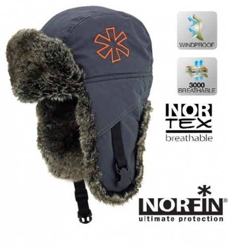 Шапка-Ушанка Discovery Norfin (L, 302789-L)Шапки-ушанки<br>Шапка-ушанка DISCOVERY Norfin мат.NORTEX Breathable/искуств.мех <br>шиншилла/подкл.флис/ цв.серый. Шапка-ушанка <br>с мехом и утеплителем. Материал - NORTEX Breathable <br>100% полиэстер с PU мембраной . Утеплитель <br>синтепон Мех искуственный шиншилла Подкладка: <br>флис с антипиллинговой обработкой<br><br>Пол: унисекс<br>Размер: L<br>Сезон: зима<br>Цвет: серый