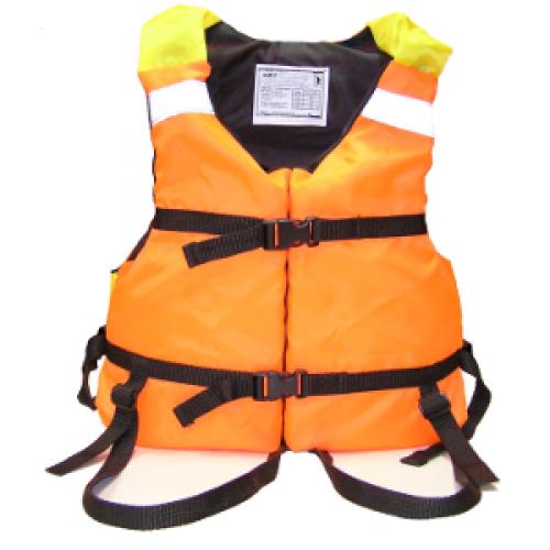 Жилет страховочный Поплавок-2 детский Спасательные жилеты<br>Жилет страховочный «Поплавок-2» Описание <br>модели: Предназначен для использования <br>при проведении работ на плавсредствах, <br>для водных видов спорта, рыбалки, охоты. <br>Жилет является индивидуальным страховочным <br>средством, регулируется по фигуре человека <br>при помощи системы строп. Одевается через <br>голову. Паховые страховочные ремни. Ткань <br>верха: Oxford Внутренняя ткань: Taffeta Наполнитель: <br>плавучий НПЭ. Рекомендуемый вес не более: <br>детский — 28 кг Цвет: оранжевый Застежка: <br>фастекс / пластик Паховые страховочные <br>ремни<br>