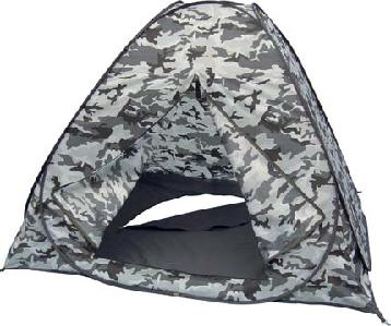 Палатка-автомат рыбака зимняя SWD Белая Палатки зимние<br>Палатка-автомат 2Х2Х1,3м для зимней рыбалки <br>с расстегивающимся дном, цвет - каммуфляж <br>Белая Ночь<br>