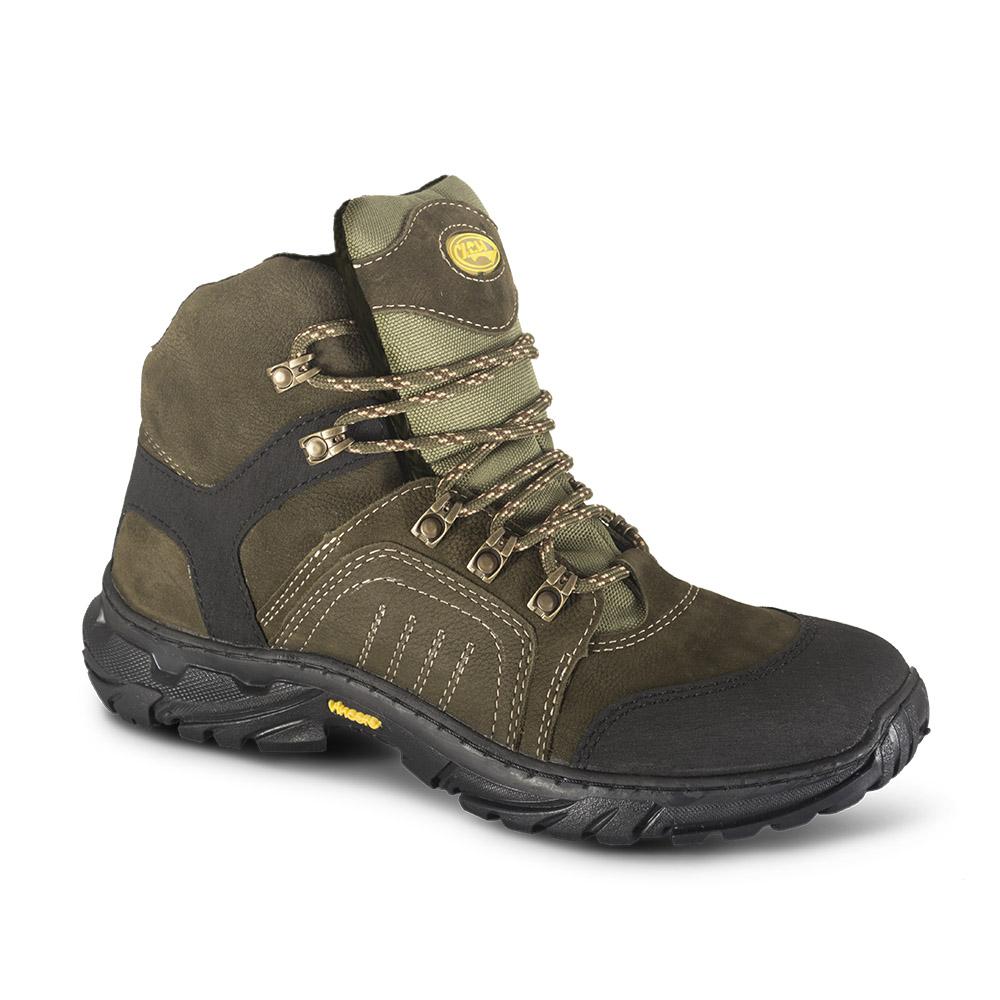 Ботинки ХСН «Страйкер» зима (натуральный Ботинки для активного отдыха<br>Подходит для активного отдыха, охоты и <br>рыбалки. Комфортная температура эксплуатации: <br>от 0°С до -25°С. Особенности: - легко поддаются <br>аэрозольной обработке; - металлический <br>супинатор; - надежные блочки; - подошва с <br>высокими показателями противоскольжения; <br>- при изготовлении применяются высокопрочные <br>нити Guterman (Германия).<br><br>Пол: мужской<br>Размер: 40<br>Сезон: зима<br>Цвет: оливковый