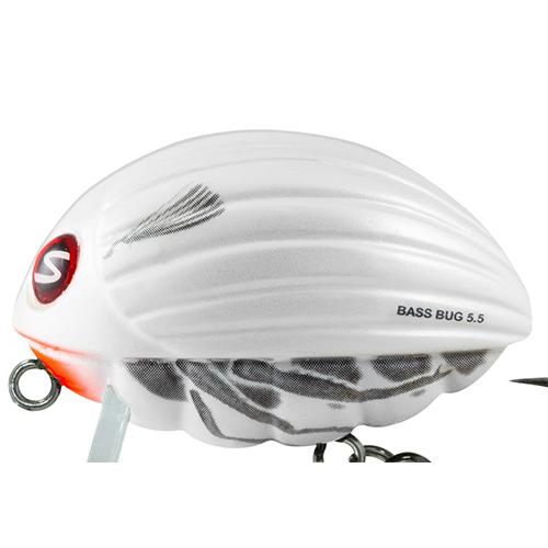 Воблер Плавающий Salmo Bass Bug F 05.5/snbsnbВоблеры<br>Воблер плав. Salmo BASS BUG F 05.5/SNBSNB пласт./расцв.SNB/дл.55мм/вес <br>26г/гл. 0,1-0,5м Вид приманки – крэнкбейт. В <br>ассортименте Salmo с – 2015 Предлагаемый размер <br>(см) – 5,5. Предлагаемый тип – F(плавающий). <br>Предлагаемое количество расцветок – 5. <br>Рекомендуемый метод ловли – СПИННИНГ. Рекомендуется <br>для ловли – басса, щуки, судака, жереха, <br>окуня. Bass Bug - это поверхностный воблер, так <br>называемый трассер. Как видно из названия, <br>он привлекает рыбу, оставляя на поверхности <br>воды хорошо заметный след. Это позволяет <br>хищнику заметить приманку даже в мутной <br>воде. Внутри тела приманки установлена <br>специальная система дальнего заброса SALMO <br>INFINITY CAST SYSTEM (SICS), которая позволяет забрасывать <br>его на большое расстояние, давая рыболову <br>возможность дотянуться до самых удалённых <br>участков водоёма. Bass Bug, оснащён невероятно <br>острыми и прочными тройниками, разработанными <br>в Японии.<br><br>Сезон: лето