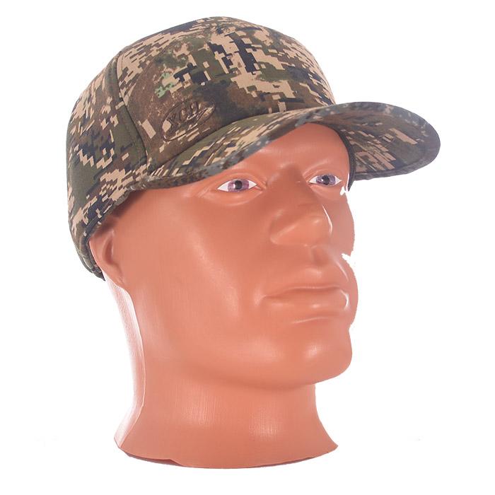Бейсболка ХСН демисезонная Ловчий (Цифра Бейсболки<br>Универсальный головной убор отлично подходящий <br>к охотничьему костюму и к повседневной <br>одежде. Смесовый материал с высоким содержанием <br>хлопка позволит «дышать» голове при длительной <br>интенсивной нагрузке и в холодное время. <br>Отлично подходит для ношения осенью и зимой. <br>Комфортная температура эксплуатации от <br>+5°С до -15°С. Особенности: - удобная и многофункциональная <br>модель; - трансформируется благодаря опускающимся <br>и поднимающимся ушкам; - объем регулируется <br>застежкой-липучкой.<br><br>Пол: мужской<br>Размер: 57-58<br>Сезон: демисезонный<br>Цвет: зеленый<br>Материал: Хлопкополиэфирная ткань