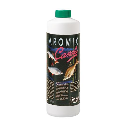 Ароматизатор Sensas Aromix Canal 0.5ЛАроматизаторы<br>Ароматизатор Sensas AROMIX Canal 0.5л канал/ 10-25% от <br>используемой воды/0,5л/ в уп 10шт AROMIX – жидкие <br>ароматизаторы, которые добавляется непосредственно <br>в воду, для замешивания прикормочной смеси, <br>это позволит пропитать каждую ее частичку. <br>Также они обладают некоторыми связующими <br>свойс<br><br>Сезон: лето