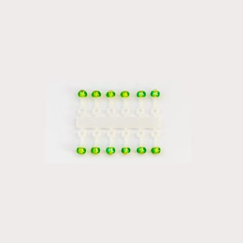 Подвес-Серьга Микро-Бис Шар Ирис Зелен. Подвесы-приманки на крючок<br>Подвес-серьга МИКРО-БИС ШАР Ирис зелен. <br>2.3мм Д 12шт. диам. 2,3мм/матер. Стекло Микро-бис <br>шар 2,3 мм.,– шарообразная подвеска маятникового <br>типа, предназначена для использования совместно <br>с мормышкой, отвесной блесной или балансиром <br>небольших размеров (до 3,5 см). Использование <br>подвески Микро-бис оживляет игру приманки, <br>создавая в ней две и более части, имеющие <br>разное (по частоте и направлению) независимое <br>движение, привлекающее и мирную, и хищную <br>рыбу. При активной игре приманки, подвеска <br>создает шумовой эффект, особенно выраженный <br>при применении двух и более подвесок на <br>одной приманке. Большой ассортимент цветов, <br>включая светящиеся люминесцентные, и легкая <br>смена одной подвески на другую, позволят <br>рыболову в процессе ловли подобрать именно <br>ту комбинацию подвесок и приманки, которая <br>на данный момент наиболее эффективна. Подвески <br>Микро-бис выполнены в двух вариантах: на <br>короткой (к) и длинной (д) ножках,имеющих <br>разную амплитуду колебаний. Способ монтажа: <br>отрезать подвеску от кассеты и надеть на <br>крючок приман<br><br>Сезон: зима