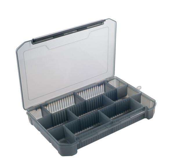 Коробочка для приманок КДП-3 (270*175*40мм) (Три Коробки для приманок<br>Коробочка со съемными перегородками, предназначена <br>для хранения мелких рыболовных принадлежностей <br>(приманок, крючков, грузил и т.д.).<br>