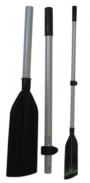 Весло BCA-03У (алюм; п/уключ) (Барнаул)Весла<br>Разборное алюминиевое весло ВСА-03У комплектуется <br>лопастью увеличенного размера (ЛВ-03) и узлом <br>крепления под поворотные уключины. Узел <br>крепления может перемещаться по длине весла <br>и фиксироваться в наиболее удобном положении. <br>Алюминиевые детали дополнительно окрашены <br>полимерной порошковой краской. Длина весла <br>в собранном виде - 1340 мм.<br>
