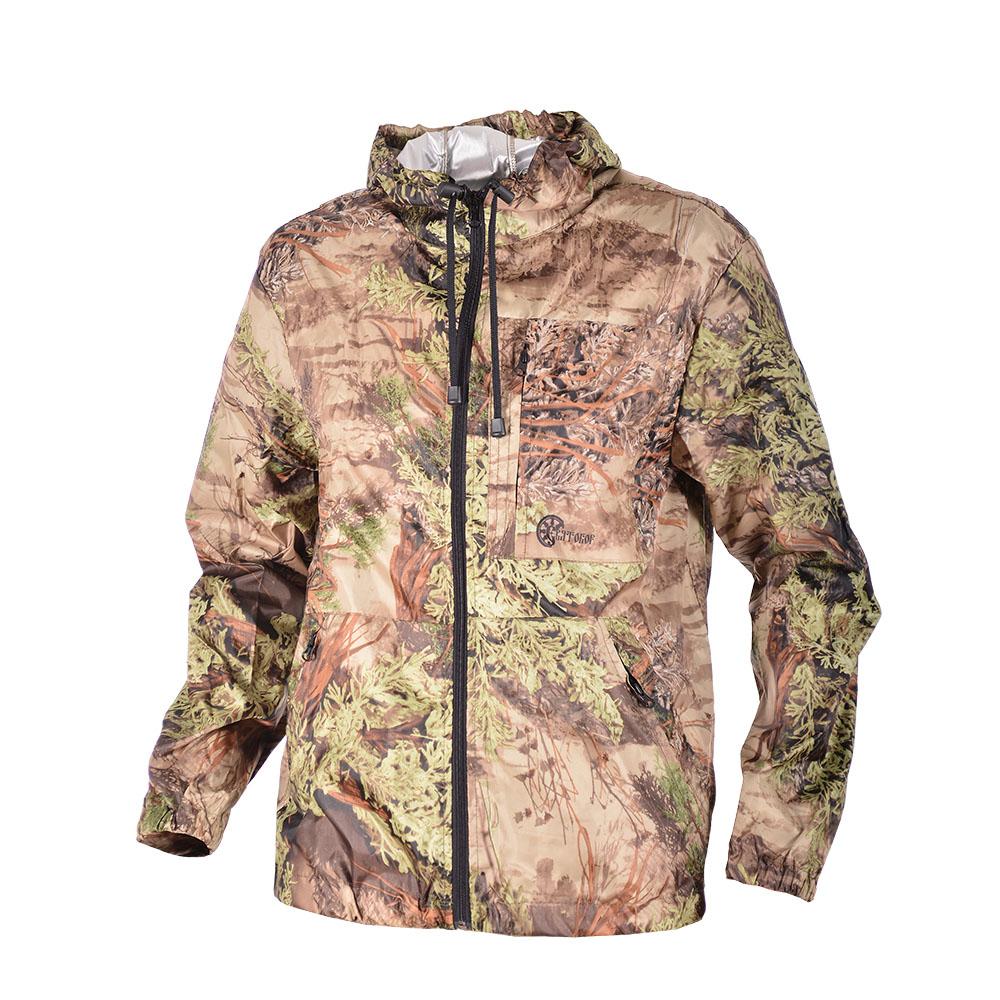 Костюм ХСН «Скаут-II» летний (С102-2) (Цифра Костюмы неутепленные<br>Костюм может использоваться как дождевик <br>либо как ветрозащитный костюм. Модель хорошо <br>подойдет рыбакам, любителям активного отдыха. <br>Комфортная температура эксплуатации: от <br>+10°С до +25°С. КУРТКА: - регулируемый капюшон; <br>- нижняя часть куртки собрана на резинку; <br>- 3 кармана: нагрудный и 2 на молнии; - эластичные <br>манжеты; - застегивается на молнию. БРЮКИ: <br>- прямого покроя; - собранный на резинку <br>низ брюк; - эластичный пояс; - шлевки для <br>ремня; - 2 кармана на молнии.<br><br>Пол: мужской<br>Размер: 54 - 56 / 176<br>Сезон: лето<br>Цвет: коричневый<br>Материал: Wattex с пропиткой Silver