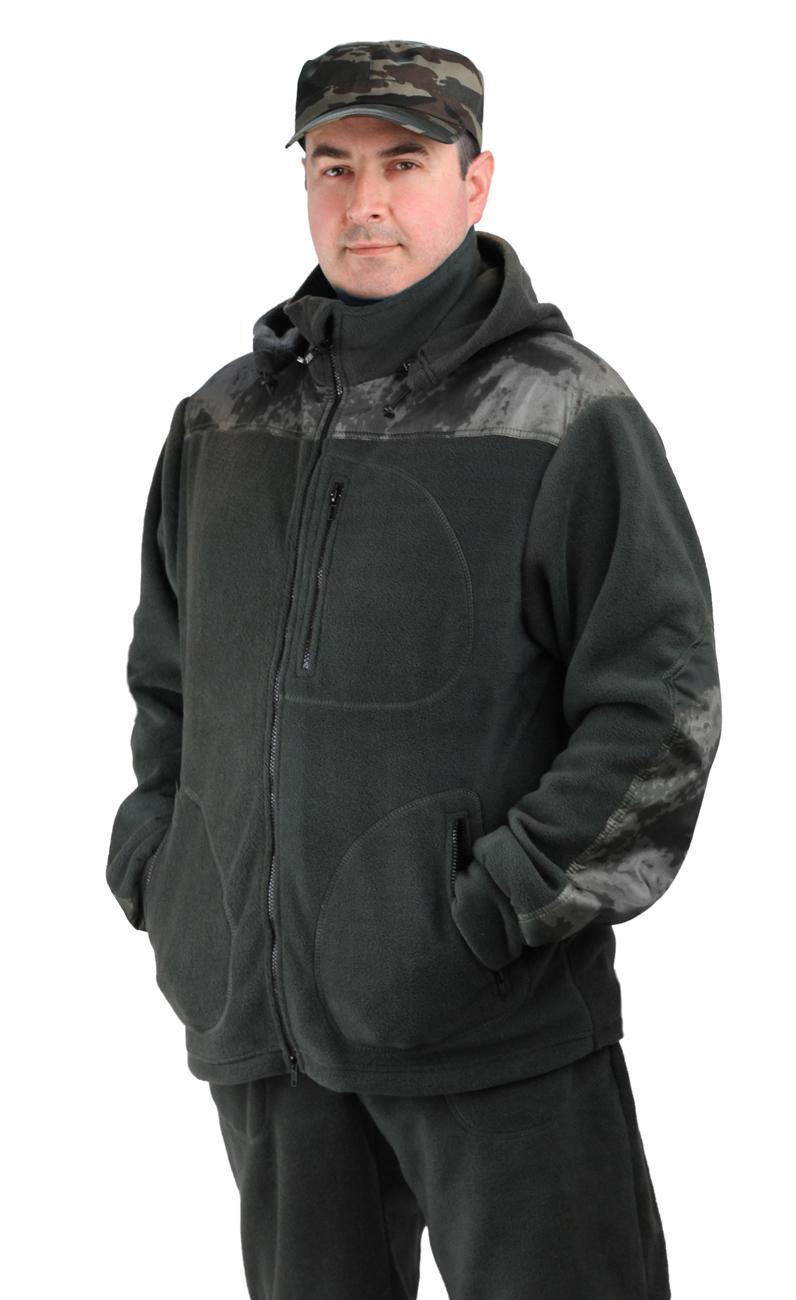 Флисовый мужской костюм Gerkon Picnic-2 цвет Костюмы флисовые<br>Модельные особенности: куртка и брюки из <br>флиса с накладками из плащевой тканью. - <br>отстёгивающийся капюшон с регулировкой <br>по овалу лица и объему – прорезные карманы <br>на молнии на куртке и брюках – регулировка <br>объема по низу куртки, поясу и низу брюк <br>- накладки на плечах, коленях, локтях и цнтральная <br>часть капюшона.<br><br>Пол: мужской<br>Размер: 56-58<br>Рост: 170-176<br>Сезон: демисезонный<br>Материал: Флис, пл.350г/м2, антипилинговый