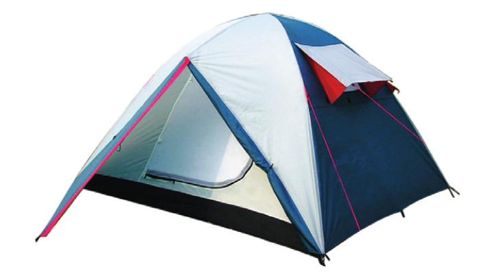 Палатка Canadian Camper IMPALA 2 (цвет royal дуги 8,5 мм)Палатки<br>IMPALA - универсальная палатка для туристических <br>походов. Палатка производится как в 2-х местном, <br>так и в 3-х местном вариантах.<br>Имеет минимальный вес среди всех туристических <br>палаток с фибергласовыми дугами, при этом <br>обеспечивая оптимальное пространство пользователям.<br>Два входа и большие вентиляционные окна <br>обеспечат комфорт даже в летний зной. Палатка <br>имеет два больших тамбура для хранения <br>туристической экипировки.<br>Окна и входы в палатку защищены противомоскитными <br>сетками.<br> <br>Характеристики <br>Количество мест 2<br>Масса, кг 3.3<br>Материал дуг стекловолокно<br>Водонепроницаемость дна, мм. водяного столба <br>6000<br>Водонепроницаемость тента, мм. водяного <br>столба 4000<br>Материал дна Polyester 75D, 180T<br>Материал тента Polyester 75D, 180T<br>Материал каркаса, стоек стекловолокно<br>Материал внутренней палатки «дышащий» <br>полиэстер<br>Москитные сетки есть<br>Назначение Туристические<br>Внутренняя палатка есть<br>Тип каркаса внутренний<br>Геометрия полусфера<br>Герметизация швов проклеенные<br>Защита от ультрафиолета есть<br>Размеры внешней палатки (тента) (ДхШхВ),&amp;nbsp;305x215x115 <br>см<br>Размеры внутренней палатки (ДхШхВ),&amp;nbsp;210x150x110 <br>см<br>Количество входов 2<br>Количество комнат 1<br>Количество тамбуров 2<br>Вентиляционные окна есть<br>Возможность крепления фонарика есть<br>Размеры в упакованном виде,&amp;nbsp;46x15x15 см<br><br>Сезон: лето<br>Цвет: синий