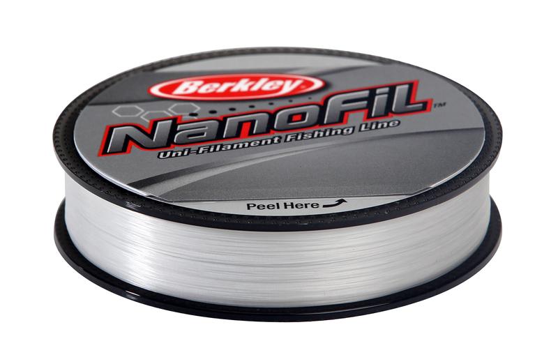 Леска плетеная BERKLEY NanoFil Clear 0.0912mm (50m)(4.012kg)(прозрачная) Леска плетеная<br>Berkley NanoFil - новое слово в рыболовных лесках. <br>Это уникальное явление на рыболовном рынке, <br>впервые удалось достигнуть высокой прочности <br>и низкой растяжимости при крайне малых <br>диаметрах. Можно сказать, что леска Nanofil <br>не является ни плетеной леской, ни моно <br>ниткой, это нечто стоящее посередине. Материалом <br>для лески служит все та же известная всем <br>Dyneema, но в отличие от лесок прошлого поколения <br>микроволонка соединены между собой на молекулярном <br>уровне, таким образом, возросшая модульность <br>материала позволила создать леску меньшего <br>диаметра, с отличными показателями на разрыв <br>и растяжимость. При этом внешне и на ощупь <br>новая леска напоминает обычную прозрачную <br>мононить! Сделано в США.<br>