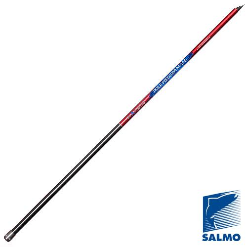 Удилище Поплавочное Без Колец Salmo Diamond Pole Удилища поплавочные<br>Удилище попл. без кол. Salmo Diamond POLE MEDIUM M 5.01 <br>дл.5.00м/тест 3-20г/270г/5секц./дл.тр.128см Высококачественное <br>телескопическое уди- лище среднего строя <br>и средней жесткости. Изготовлено из графита <br>IM7. Диаметр хлыста под коннектор 1,58 мм. ? <br>Материал бланка удилища - углеволокно (IM7) <br>? Строй бланка средний ? Конструкция телескопическая <br>? Рукоятка с противоскользящим покрытием<br><br>Сезон: лето