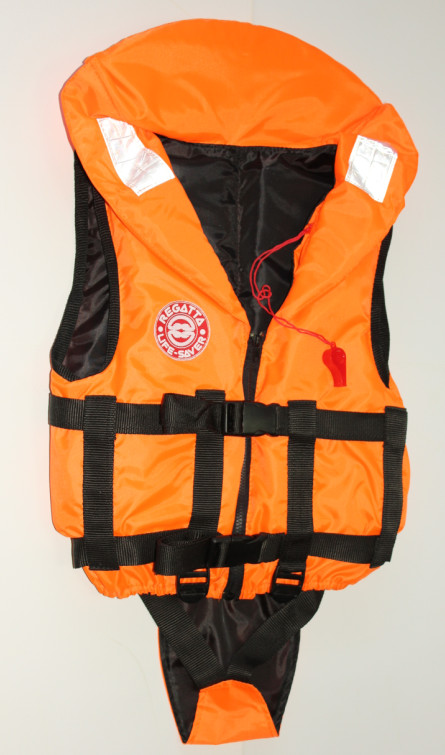 Жилет спасательный BABY 40 (40 кг, оранжевый)Спасательные жилеты<br>Спасательный жилет модели «BABY» является <br>универсальным надежным средством спасения <br>ребенка на воде. Жилеты этой серии отлично <br>зарекомендовали себя как индивидуальное <br>спасательное средство для самых маленьких <br>рыбаков, а так же детей, ведущих активный <br>образ жизни. В комплект жилета входят регулировочные <br>ремни, светоотражающие полосы, карманы, <br>молния, свисток, паховая кулиса, подголовник <br>с воротником. Конструкция жилетов обеспечивает <br>при попадании в воду положение тела ребенка <br>«лицом вверх» и под необходимым углом к <br>горизонту так, чтобы придать голове безопасное <br>положение над водой. 01 Описание. Жилет с <br>универсальной подгонкой размера. 02 Цвет: <br>Яркий оранжевый сигнальный цвет, отражающие <br>полосы на основе ПВХ. 03 Комплектность: Свисток, <br>паховая тканевая кулиса с регулировкой <br>длины ремней.<br>