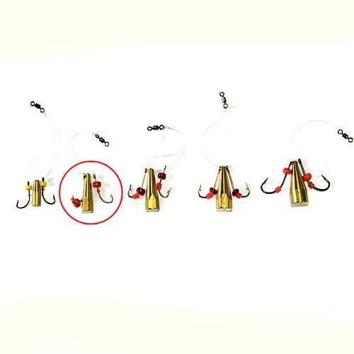 Мормышка Латунная Балда Бисер №6Мормышки, джиг-головки зимние<br>Мормышка латун. БАЛДА бисер №6 диам. 6мм/матер. <br>латунь/кр.№6/кол.в уп.10шт Балда – традиционно <br>русская снасточка-приманка предназначенная <br>для ловли рыбы в зимнее время со льда. Уникальность <br>и уловистость данной приманки состоит в <br>том, что ее игра в воде очень схожа с реальными <br>движениями личинки стрекозы. А как известно, <br>личинка стрекозы любимое лакомство таких <br>рыб как окунь, лещ, плотва и др. Соответственно <br>трофеями рыболовов при ловле на «балду» <br>становятся практически все рыбы водоема. <br>Производится данная приманка из полированного <br>латунного прутка диаметром 4, 5, 6, 7 и 8 мм. <br>Ассортимент выражен 5 размерами № 4 (диаметр <br>прутка 4 мм, крючок №8), № 5 (диаметр прутка <br>5 мм, крючок №7), № 6 (диаметр прутка 6 мм, крючок <br>№6), № 7 (диаметр прутка 7 мм, крючок №5), № <br>8 (диаметр прутка 8 мм, крючок №4). Крючки <br>по европейской классификации.На крючках, <br>имитирующих лапки насекомого, применяется <br>подсадка таких игровых акустических элементов <br>как латунный шарик, паетка, кембрик и бисер. <br>Каждое изделие упаковано в пло<br><br>Сезон: Зимний<br>Материал: Латунь