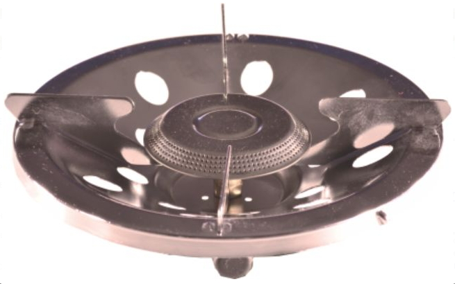 Горелка газовая СЛЕДОПЫТ Ручное ПламяГорелки<br>Практичная и надежная бюджетная газовая <br>горелка. Очень проста в обращении и неприхотлива <br>в использовании. Основание горелки изготовлено <br>из нержавеющий стали толщиной 0,8 мм., имеет <br>усиленный каркас и дополнительные ребра <br>жесткости. Подходит для посуды с диаметром <br>варочной поверхности до 30 см., поэтому может <br>с легкостью использоваться для приготовления <br>пищи в больших группах людей. Для питания <br>плиты используются газовые смеси в баллонах <br>FG-230 и FG-450 с резьбовым клапаном, а также баллоны <br>FG-220 нажимного типа с цанговым патроном <br>используя переходник PF-GSA-02 (поставляется <br>отдельно). Для розжига горелки вы можете <br>использовать спички, зажигалку или автономный <br>пьезоэлектрический розжиг. ХАРАКТЕРИСТИКИ: <br>Мощность горелки: 1,5 кВт. Диаметр горелки: <br>85 см. Вес горелки: 400 гр. Размер в походном <br>положении: 220 х 220 х 90 мм. Макс. диаметр используемой <br>посуды: 250 мм. Максимальная вертикальная <br>нагрузка: 6 кг (6 л. воды).<br>