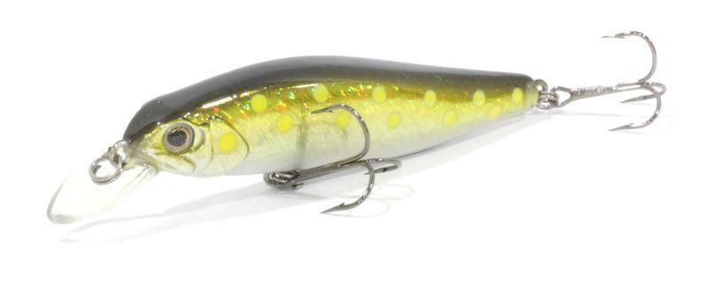 Воблер Trout Pro Lucky Minnow 80SP цвет 047Воблеры<br>Классический минноу воблер для ловли щуки <br>на мелководье. Обладает прекрасной игрой <br>как при равномерной проводке, так и при <br>рывковой твичинговой.<br>