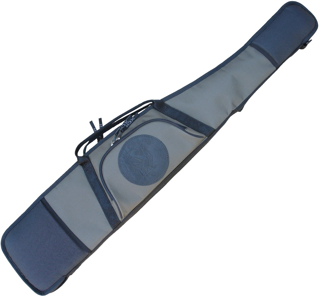 Чехол ХСН ружейный папка «Люкс» (130 см. велюр)Чехлы для оружия<br>Предназначен для хранения и транспортировки <br>оружия в собранном виде. Особенности: - простая <br>и удобная конструкция; - выполнен из прочной <br>износостойкой ткани; - 1 большой карман на <br>лицевой части чехла; - дополнительная вставка <br>под затвор, чтобы не повредить подклад чехла; <br>- полукольцо для вертикального подвешивания <br>чехла.<br><br>Пол: мужской<br>Сезон: все сезоны<br>Цвет: серый<br>Материал: Ткань Oxford