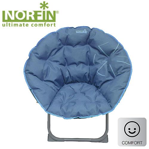 Кресло Складное Norfin Svelvik NflСтулья, кресла<br>Складное кресло - прекрасный выбор для <br>ценящих комфорт рыбаков. Мягкое сиденье, <br>круглая форма, надежная конструкция, угловые <br>фиксаторы на ножках делают эту модель очень <br>устойчивой. Особенности: - габариты 85x38x74 <br>см; - размер в сложенном виде 76x76x8 см; - максимальная <br>нагрузка 120 кг; - каркас: сталь 25 мм.<br><br>Сезон: лето<br>Цвет: синий<br>Материал: 600D polyester