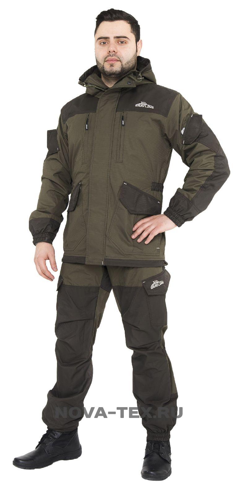 Костюм мужской Скат (100% нейлон, хаки), бренд: Костюмы неутепленные<br>Костюм «Скат» - универсальный костюм, потомок <br>знаменитой «Горки», относится к элитной <br>рыболовной экипировке коллекции ТМ «GRAYLING» <br>от компании NOVA-TEX/ Главный секрет костюма <br>«Скат» - это анатомический крой и современные <br>материалы. Основной упор сделан на удобство <br>и практичность. Состоит из удлиненной куртки <br>и полукомбинезона-трансформера с отстегивающимися <br>лямками. Это многофункциональный костюм, <br>для всех любителей активного отдыха. Особенности <br>модели: -анатомический крой -мембранная <br>ткань -водонепроницаемость 8000мм -паропроницаемость <br>5000мм -ветрозащитная ткань -влагозащитная <br>ткань -двойная ветрозащитная планка -двухзамковая <br>молния -капюшон регулируется по ширине <br>-отделка тканью-мембраной -усиление по плечам <br>-усиление на коленях -усиление на локтях <br>-усиление по низу брюк -утяжки в области <br>коленей -утяжки в области локтей регулируемые <br>подтяжки<br><br>Пол: мужской<br>Размер: 68-70<br>Рост: 182-188<br>Сезон: лето<br>Цвет: оливковый<br>Материал: мембрана