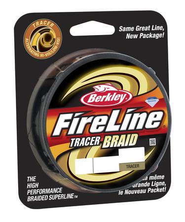 Леска плетеная BERKLEY FireLine Tracer 0.30mm (110m)(36.3kg)(желтая/черная)Леска плетеная<br>Чередование желтых и черных участков шнура <br>позволяет вам видеть, куда легла ваша приманка <br>при забросе. Также в процессе рыбалки вы <br>можете считать желтые и черные участки, <br>чтобы контролировать дальность заброса <br>или глубину погружения приманки. - современная <br>улучшенная упаковка, позволяющая видеть <br>шнур и потрогать его.<br>