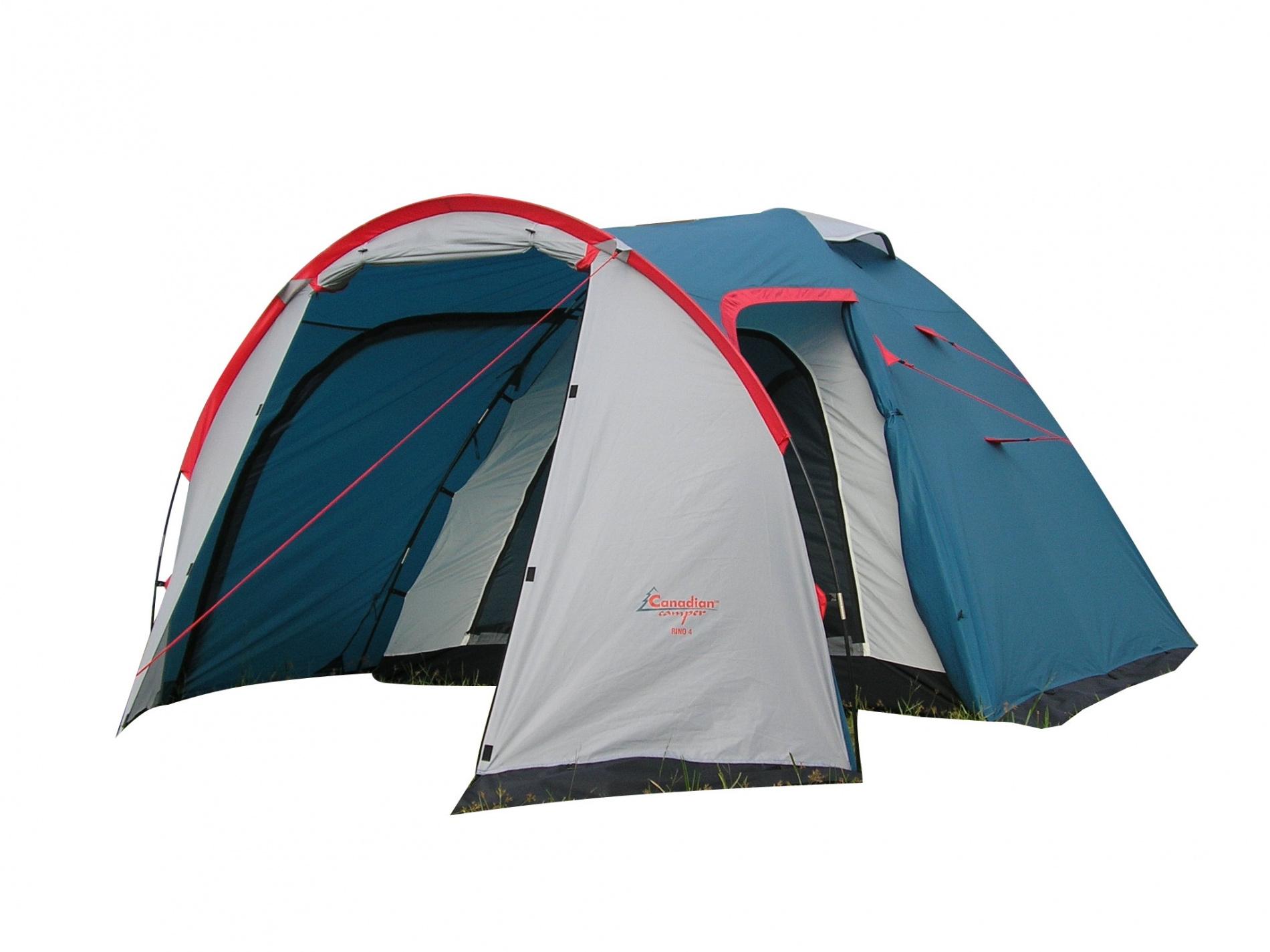 Палатка Canadian Camper RINO 2 (цвет royal дуги 8,5 мм)Палатки<br>Палатка RINO 2 (цвет royal дуги 8,5 мм)<br><br>Цвет: синий