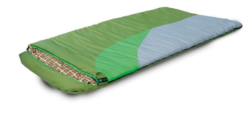 Спальный мешок PRIVAL Берлога_2 (110см, капюшон,  шервисин, 450 гр/м2, левый)