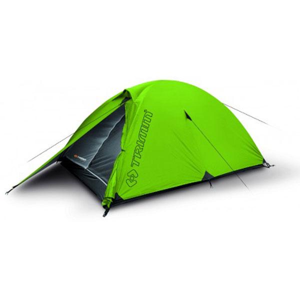 Палатка Trimm Alfa D, зеленый 2+1Палатки<br>Описание палатки Trimm ALFA D: Модель для 2-3 <br>человек с дюралюминиевой (Alfa D) и дюравраповой <br>(Alfa) конструкцией и оптимальной длинной <br>для комфорта пользователя. Тамбур обеспечивает <br>пространство для укладки багажа. Преимуществом <br>палатки является небольшой вес и быстрое <br>сооружение. Материалы и технологии: Внешний <br>тент: 100% полиэcтер, 4 000 мм Внутренняя палатка: <br>дышащий водоотталкивающий 100% полиэстер <br>Пол: 100% нейлон PU 10 000 мм Несущая конструкция: <br>Дюралюминий 7001 T6 ? 8,5 мм Технические характеристики: <br>Вместимость: 2 + 1 человека Противомоскитная <br>сетка Проклеенные швы Компрессионная упаковка: <br>15 x 15 х 48 см Размер: (220+90) x 150/110 см Вес: 2800 гр.<br>
