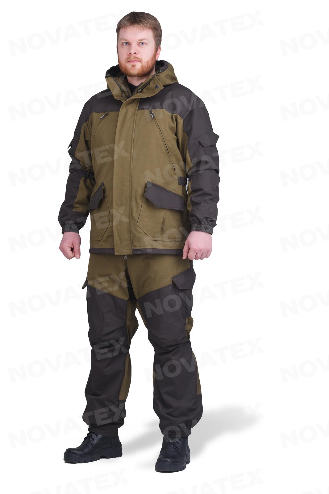 Костюм «Горка Осень 2017» (палатка, флис) Костюмы утепленные<br>Костюм «Горка Осень» ( ТМ «Payer») разработан <br>в компании Novatex на основе легендарного костюма <br>«Горка», используемого в спецподразделениях. <br>Костюм «Горка Осень» состоит из куртки <br>и брюк на подтяжках. Отличается специальным <br>анатомическим кроем, характерным для данной <br>линии одежды. Он не стесняет движений, дает <br>свободу перемещения в условиях пересеченной <br>местности. Верхний слой изготовлен из проверенной <br>временем ткани палатка. Эта ткань (100% хлопка) <br>прекрасно защищает от ветра, почти мгновенно <br>сохнет, пропускает воздух (позволяя телу <br>«дышать»), подкладка из мягкого гипоаллергенного <br>флиса обеспечивает комфорт и тепло. Места <br>повышенного износа имеют дополнительное <br>усиление, мембранной тканью «Кошачий глаз», <br>которая не пропускает влагу снаружи, отводит <br>ее изнутри и обладает повышенной износостойкостью. <br>Рекомендован для военных, охотников, рыбаков, <br>туристов, любителей военно-спортивных игр, <br>представителей силовых структур.<br><br>Пол: мужской<br>Размер: 56-58<br>Рост: 182-188<br>Сезон: демисезонный<br>Цвет: зеленый